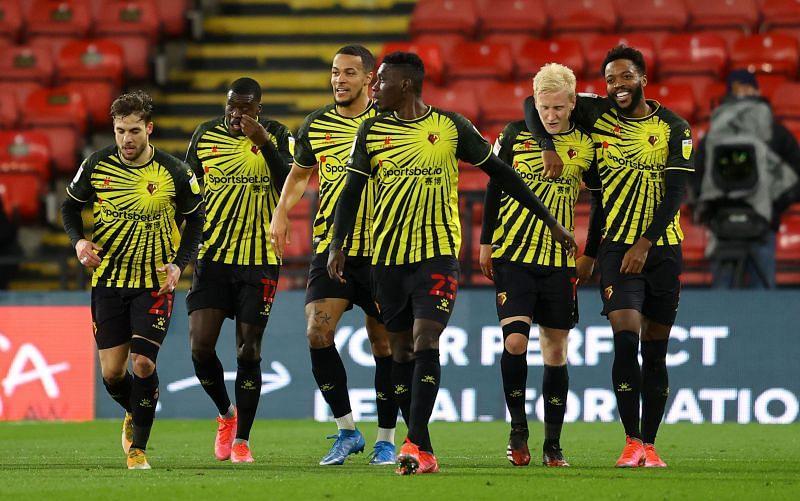 Watford travel to Blackburn on Wednesday night