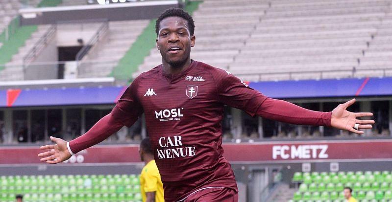 Can Aaron Leya Iseka help Metz to claim a good result against Nice this weekend?