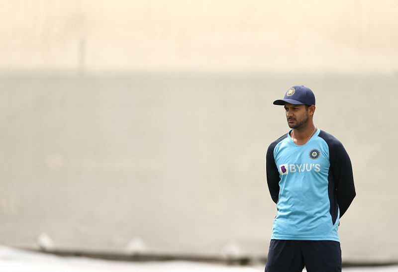 Mayank Agarwal in a training session.