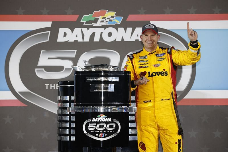 Michael McDowell won the 63rd Daytona 500. Photo: Getty Images