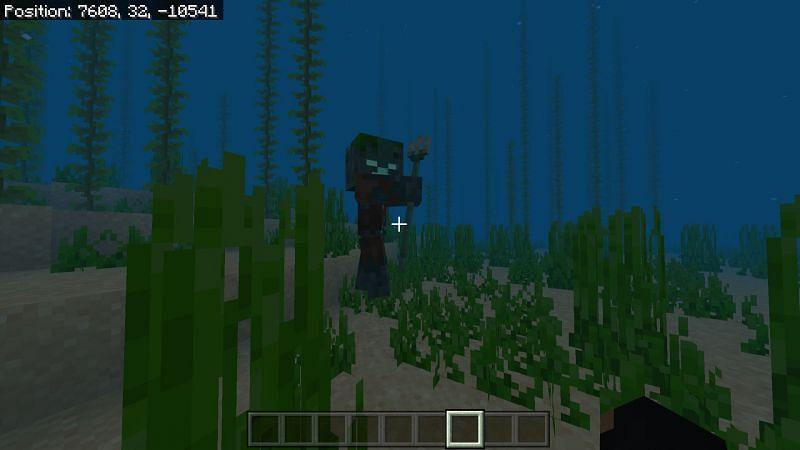 Minecraft trident