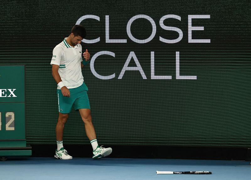 Novak Djokovic once again targeted by Nick Kyrgios
