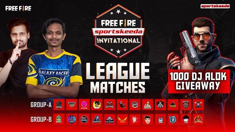 Free Fire sportskeeda invitational