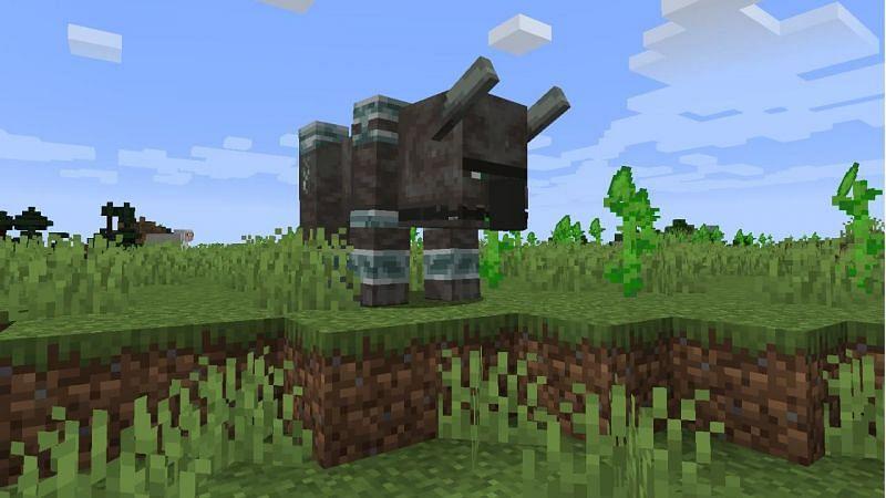 I corvi significano pericolo e selle (Immagine tramite Minecraft)