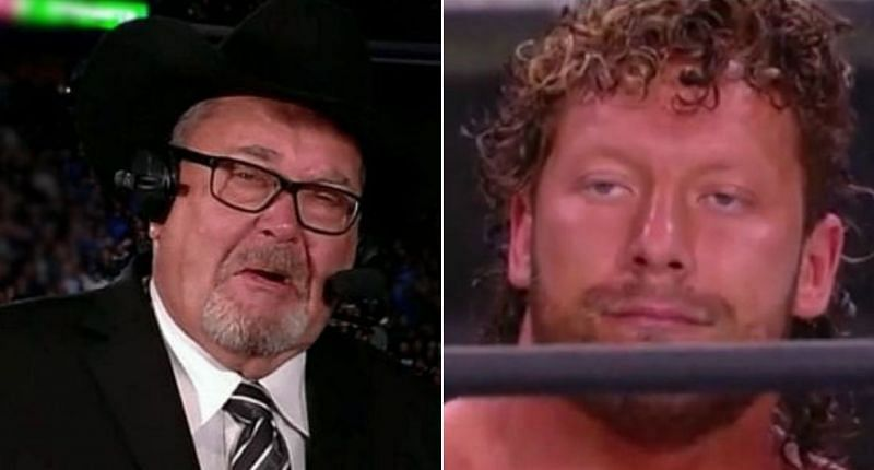 Jim Ross and Kenny Omega