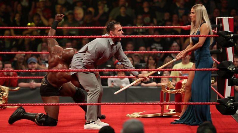 Lana, Bobby Lashley and Rusev on WWE RAW