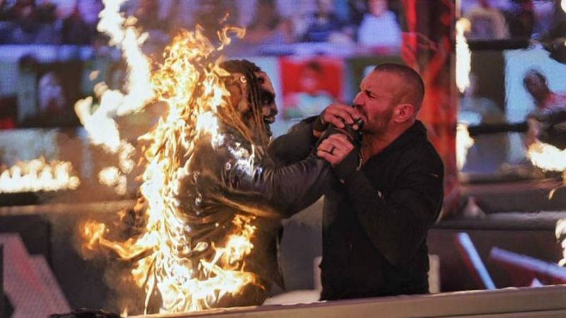 The Fiend and Randy Orton