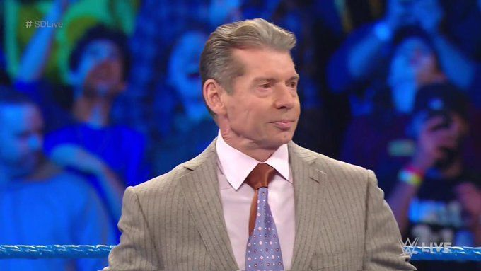 Vince McMahon watched the argument unfold backstage