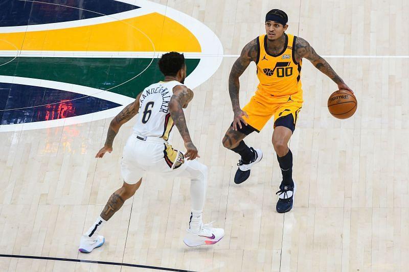 Utah Jazz Sixth man Jordan Clarkson vs New Orleans