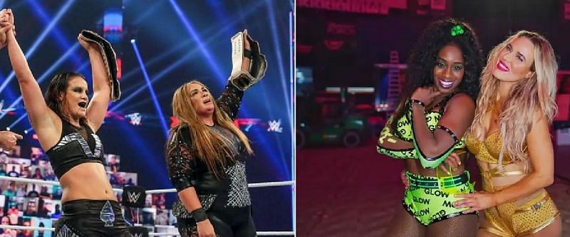 There are several combustible elements in the WWE Women