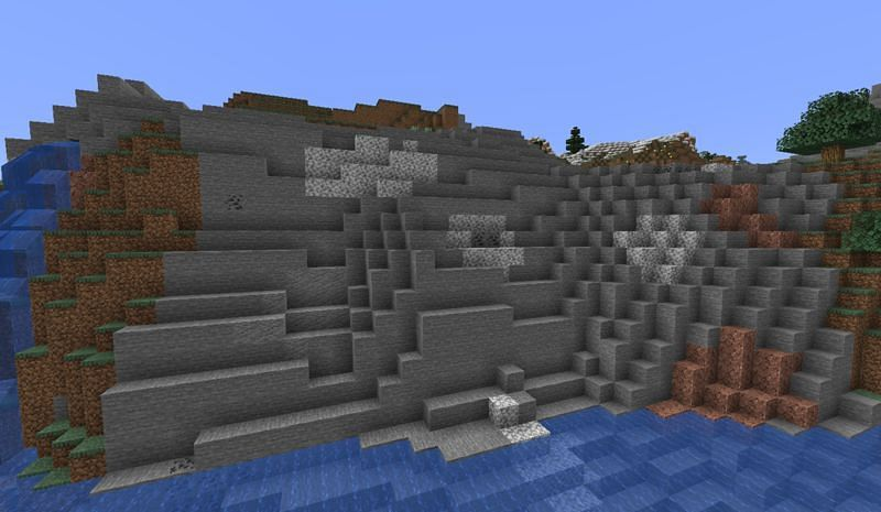 The Stone Shore biome doesn