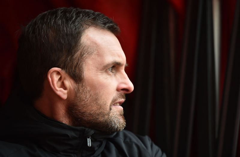 Nathan Jones will lead Luton Town against Millwall