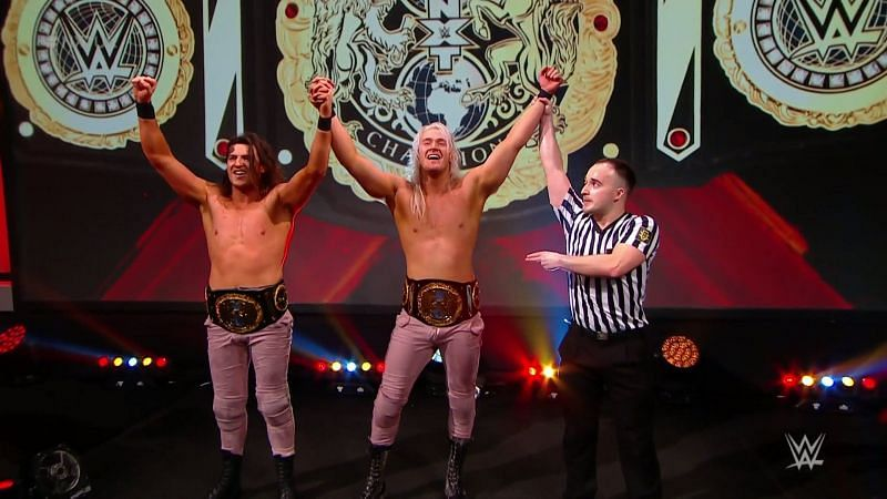 Pretty Deadly became the new NXT UK Tag Team Champions
