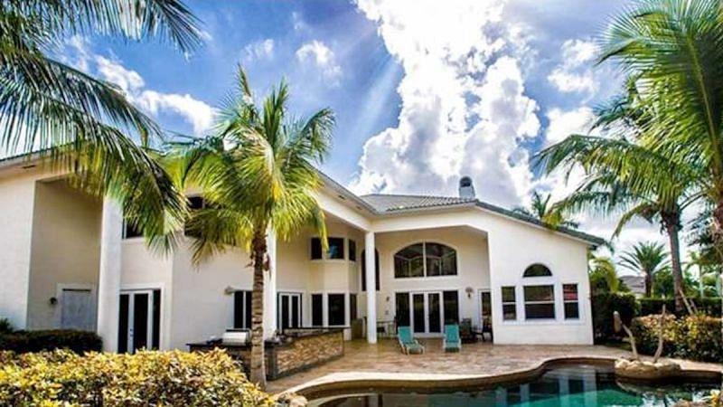 Chad Johnson house