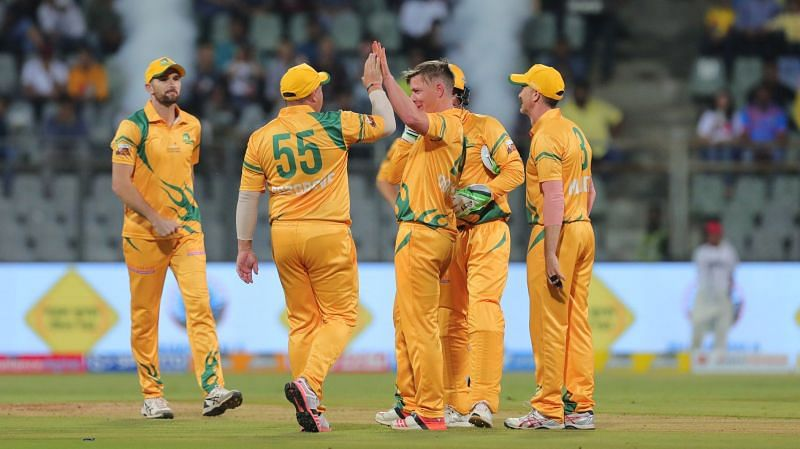 The Australia Legends were a part of the Road Safety World Series 2020