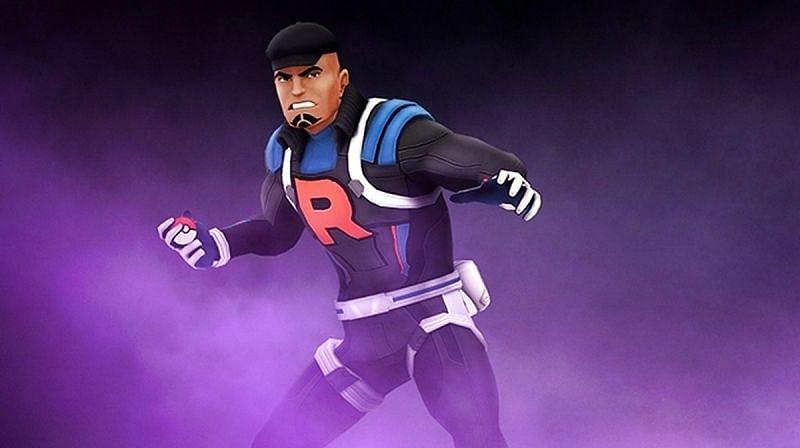 Team GO Rocket leader Cliff (Image via Niantic)