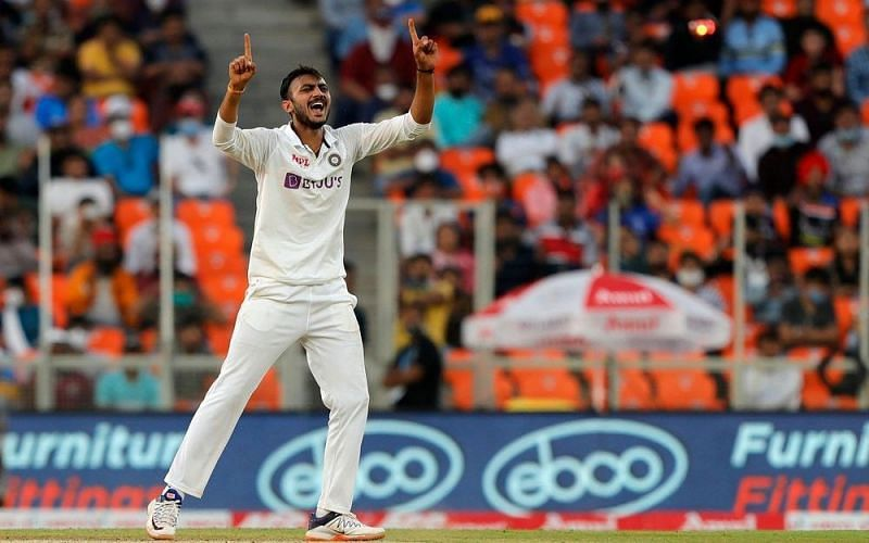 Axar Patel has become just the third Indian to register five-wicket hauls in the first two Tests [Credits: BCCI]