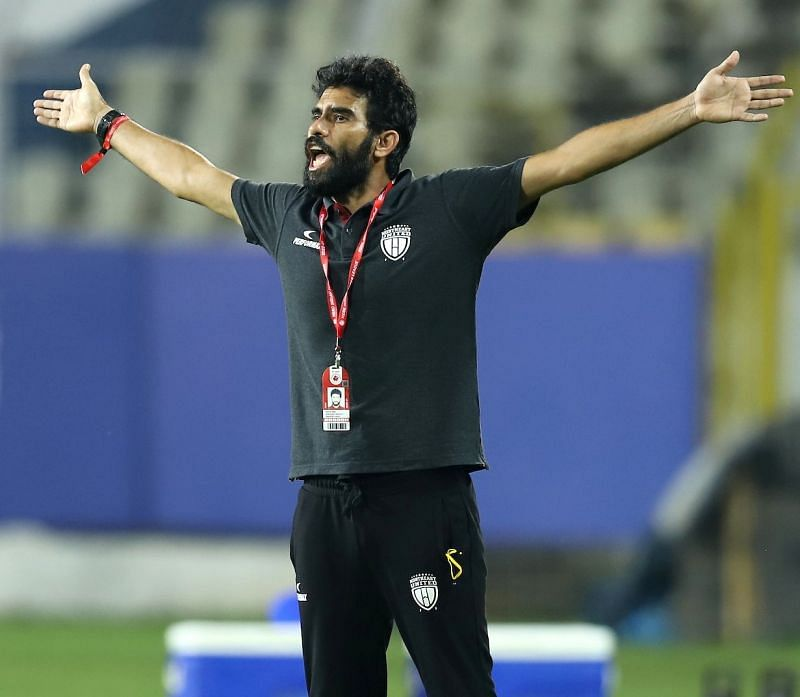The soft-spoken Khalid Jamil was elated with NorthEast United FC