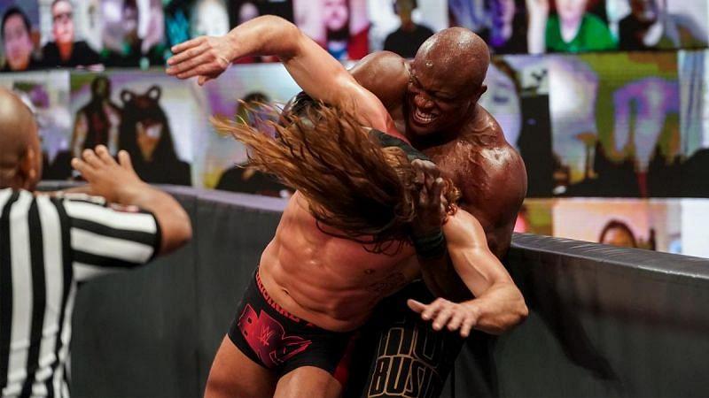 Bobby Lashley and Riddle on WWE RAW