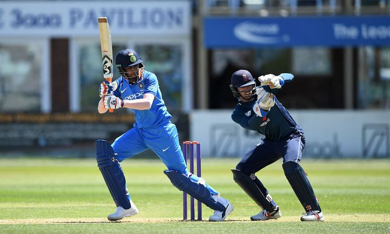 Krishnappa Gowtham in action for India