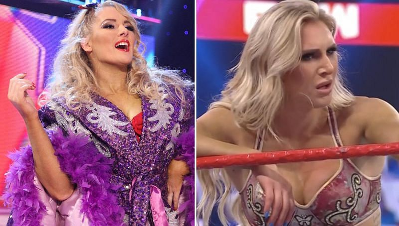 Lacey Evans and Charlotte Flair
