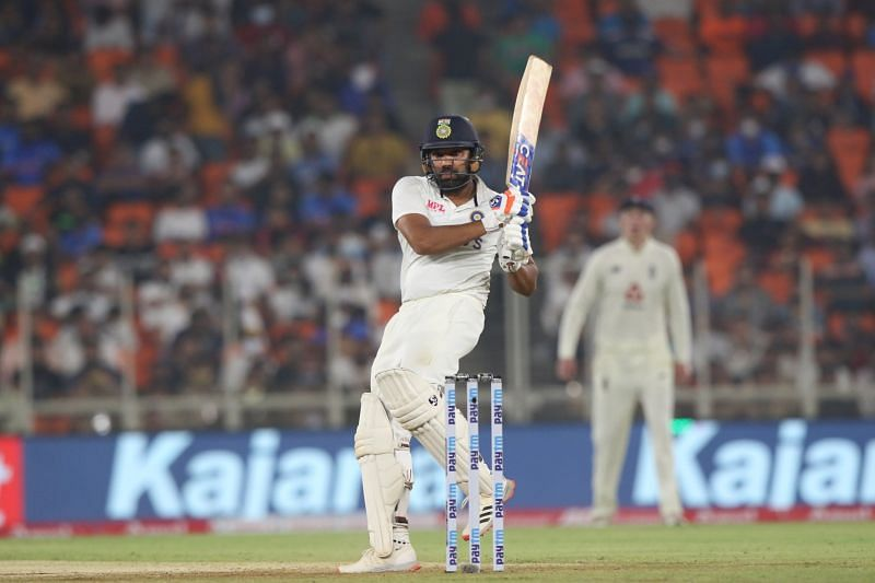 Rohit Sharma scored an unbeaten 57 to put Team India in the ascendancy.