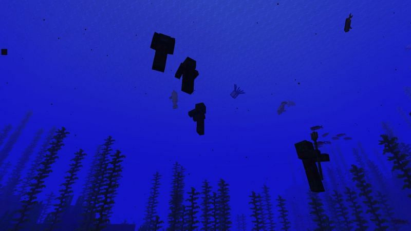 Someone get a lifeguard! (Image via Minecraft)