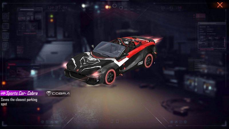 Sports Car Cobra skin