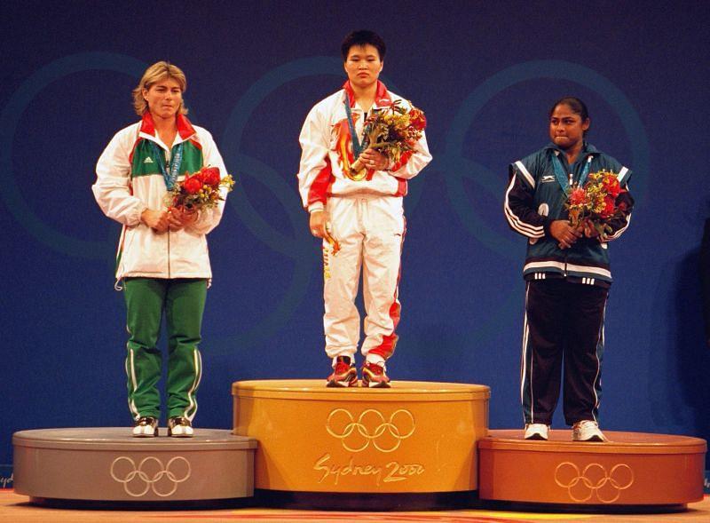 Karnam Malleswari- Bronze medal at 2000 Sydney Olympics