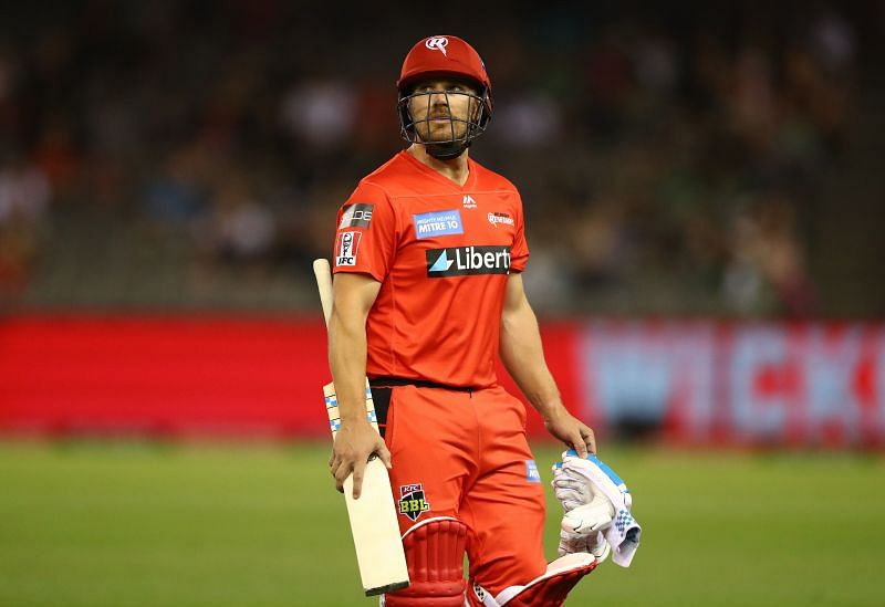 Aaron Finch went unsold at the latest IPL auction.