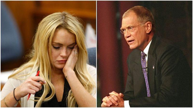 Image via Lindsay Lohan & David Letterman