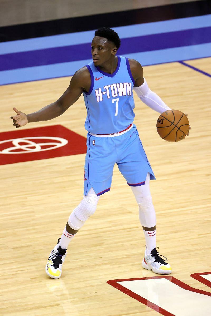 Houston Rockets guard Victor Oladipo
