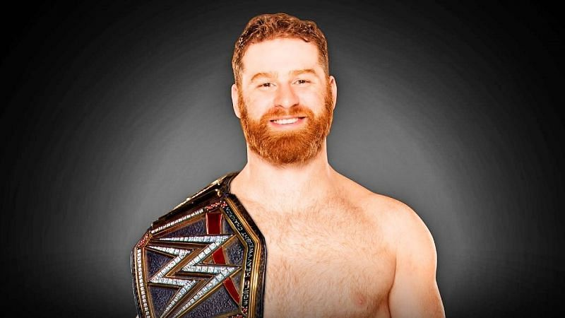 Sami Zayn as WWE Champion