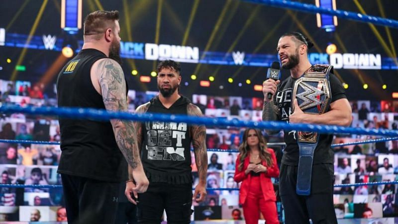 Kevin Owens still has some unfinished business with Roman Reigns