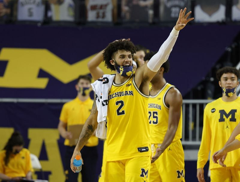 Isaiah Livers #2 of the Michigan Wolverines