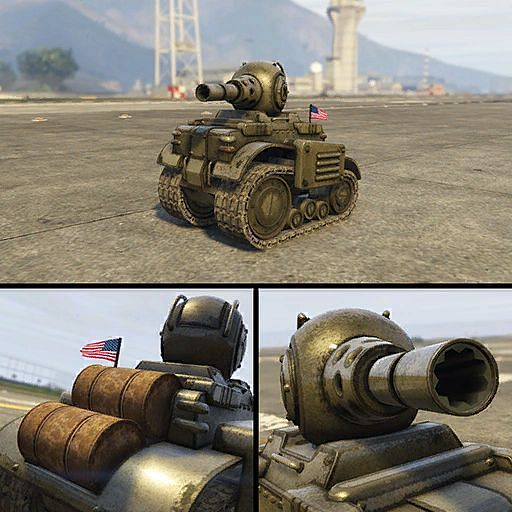 Weapon customization in this vehicle is most exciting in GTA Online (Image via GTA Wiki)
