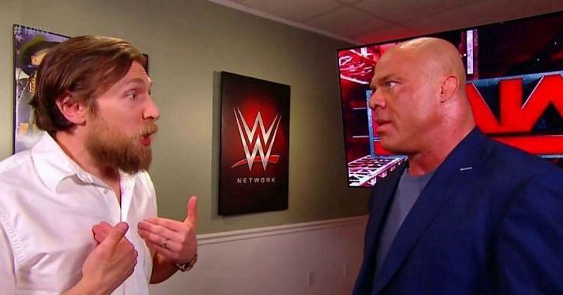 Daniel Bryan and Kurt Angle.
