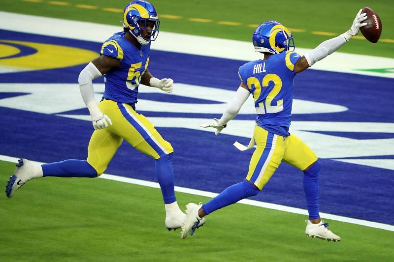 Los Angeles Rams CB Troy Hill