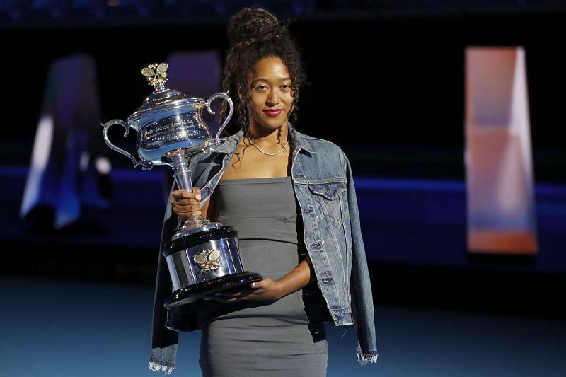 Naomi Osaka at the 2020 Australian Open Official Draw