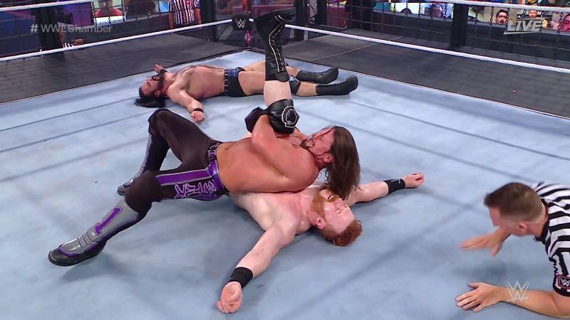 WWE चैंपियनशिप Elimination Chamber मैच