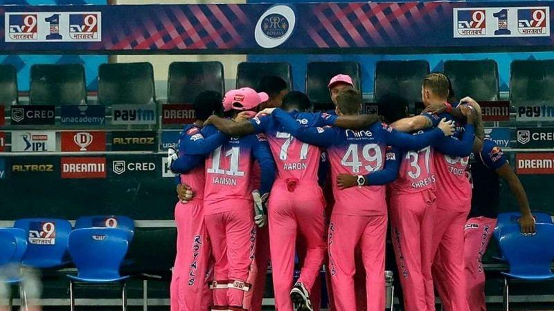 राजस्थान रॉयल्स की टीम