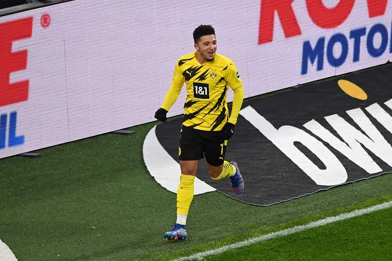 Jadon Sancho has continually been linked with a move to Manchester United.