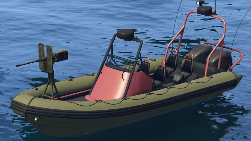 The Weaponized Dinghy (Image via GTA Wiki)