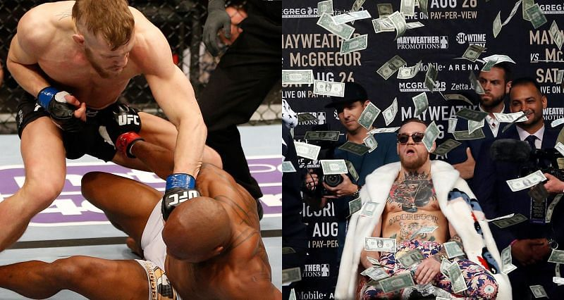 Conor McGregor: How it started (Left) and where it reached (Right)