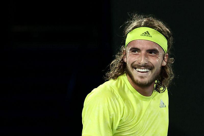 Stefanos Tsitsipas after beating Rafael Nadal