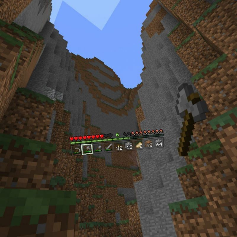 Another look at Minecraft in VR (Image via Minecraft)