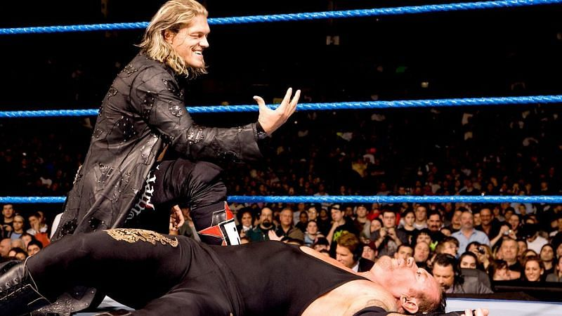 Edge and The Undertaker