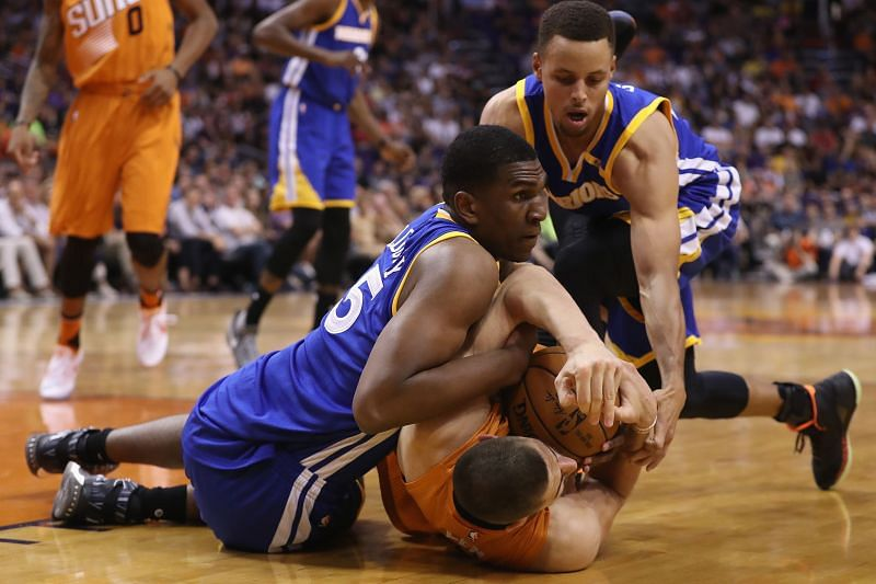 The Golden State Warriors have fought to a 14-13 record this season.