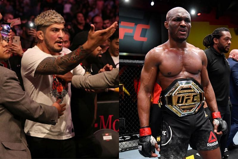 Dillon Danis (Left), Kamaru Usman (Right)