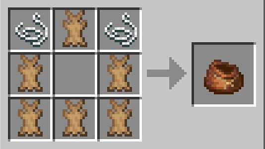 Concocting a bundle (Image via Minecraft Wiki)